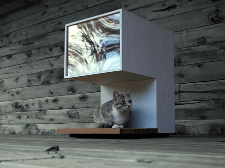 LKD Designed Modern Cat House
