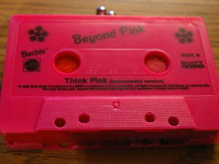 Cassette Tape Coin Purse Front Shot