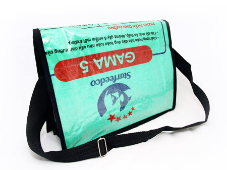 Newspaper Messenger Bag