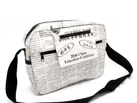 Newspaper Messenger Bag